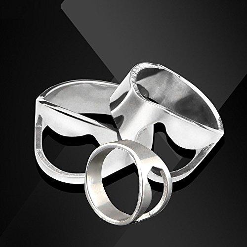 Baanuse Flaschenöffner Ring, 20/22/24 mm, 3 Stk