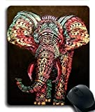 Kundengebundenes Mousepad malte Elefant Desktop-Laptop-Gaming-Mauspad Gummi-Rechteck-Mauspad TDPRE160705040