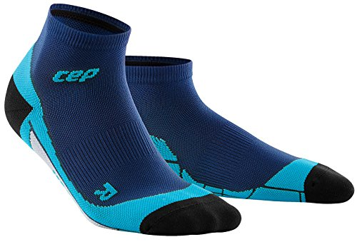 CEP Run Low Cut Socks Deep Ocean/Hawaii Blue Gr. lV Damen (Deep Low Cut)