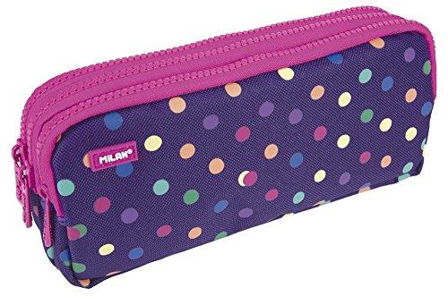 Milan 081135DT Dots Estuches, 22 cm, Multicolor
