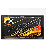 atFoliX Folie für Pioneer Avic-F70DAB/F77DAB Displayschutzfolie - 3 x FX-Antireflex-HD hochauflösende entspiegelnde Schutzfolie