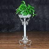 Questo bellissimo vaso da fiori Supporto può essere visualizzato nel tuo salotto, terrazze, verande?Balcone, Terrazza e giardino. Il design elegante crea bella godimento visivo.Può essere visualizzato in dove vuoi. Imballato in scatola, regal...