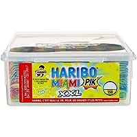 Haribo Bonbon Gélifié Miami Pik x 150 Pièces 1,8 kg