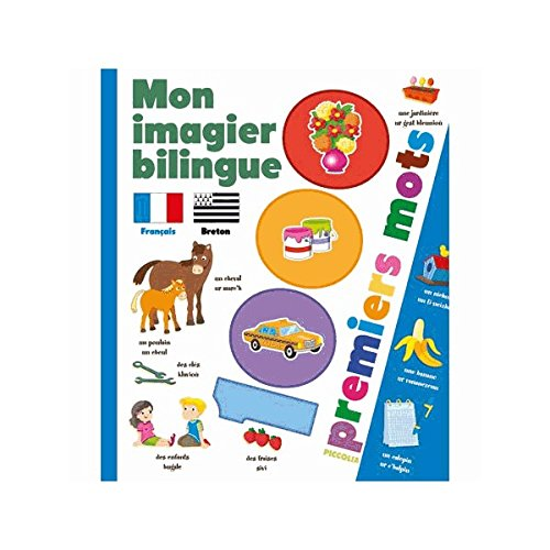 Mon imagier bilingue français-breton : 1000 premiers mots