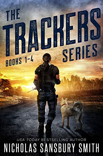 Trackers: The Complete Four Book Series (A Post-Apocalyptic Survival Thriller) (English Edition) par Nicholas Sansbury Smith