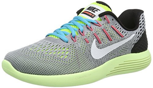 Nike 843725-017, Sneakers trail-running homme Gris (Wolf Grey/white-volt-gamma Blue 017)