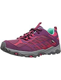 Merrell ML-s Moab Fst Low Waterproof, Zapatillas de Senderismo para Niñas