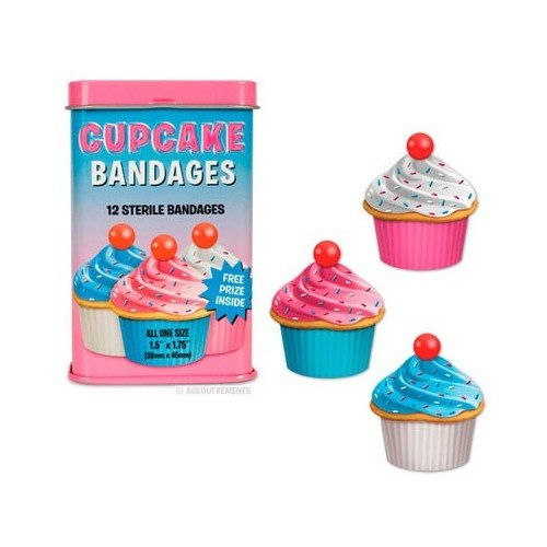 cupcake-bandages-band-aid-set