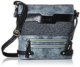 Rieker Nicht Angegeben, Women's Shoulder Bag, Blau (Ozean/anthrazit), 60x280x280 cm...