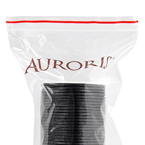 Auroris 25 m Rolle Lederband, rund Durchmesser 2 mm, schwarz