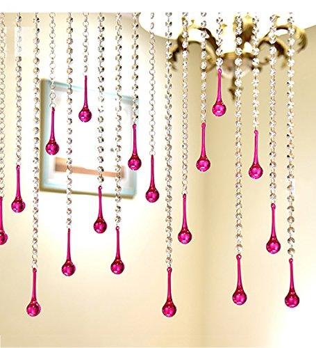 lle Perlen Tür Vorhang Octagon DIY Home Schlafzimmer Weihnachten Hochzeit Party Club Store Feier Haushaltsprodukte ( Farbe : #3 , größe : L 100CM*W 120cm ) (Diy Perlen-tür-vorhänge)