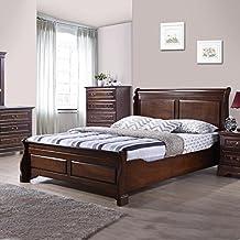 Royaloak Sydney Queen Size Bed (Cappuccino)