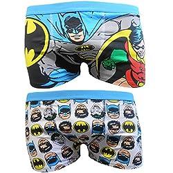 Batman Mens Boxer Trunks Dos Pack - S