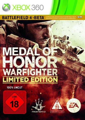 Medal of Honor: Warfighter - Limited Edition (inkl. Zugang zur Battlefield 4-Beta) (Xbox 360 Spiel Des Jahres Edition)