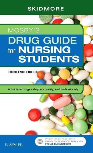 Mosby's Drug Guide for Nursing Students, 13e