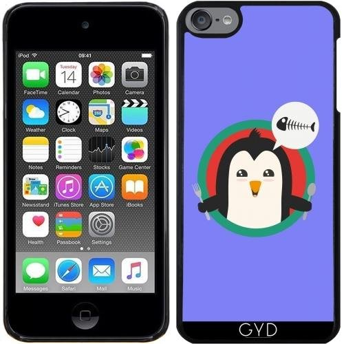 Hülle für Ipod Touch 6 - Pinguin Mit Besteck Und by ilovecotton (Pinguin-ipod-fall)