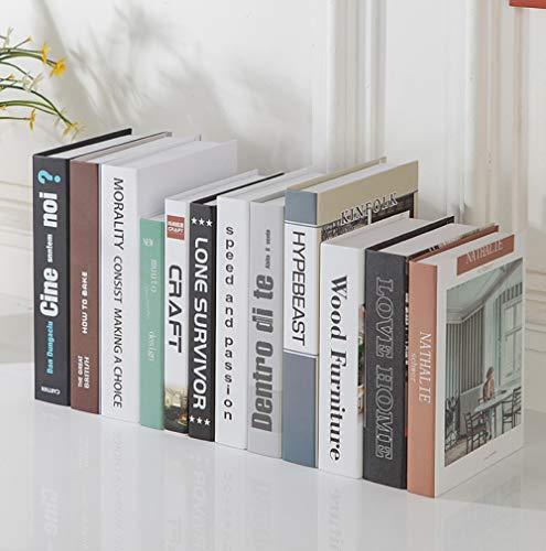 STSJSI Gefälschte Buchdekoration Gefälschte buch ornamente Nordic minimalistischen simulation buch gefälschte buch dekorationen ornamente büro wohnzimmer dekoration buch foto requisiten buch box deko