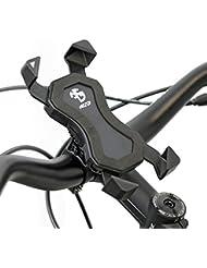 NC-17 Connect 3D Universal Halter #1 / Smartphone und Handy Halterung für Fahrrad, Bike, Motorrad / Handyhalter für iPhone, Galaxy / Halter für Navigation / Halter für Mobiltelefon / schwarz