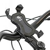 NC-17 Connect 3D Universal Halter 1 / Smartphone und Handy Halterung für Fahrrad, Bike, Motorrad / Handyhalter für iPhone, Galaxy / Halter für Navigation / Halter für Mobiltelefon / schwarz