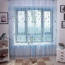 cortinas bsicas cortinas de gasa globo romnticas