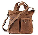 Greenburry Shopper 34 x 33 x 10 cm antikbraun
