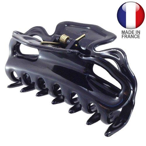 214 – 001 – Pince pour cheveux français cm 9 Noir – Pinces pour Cheveux