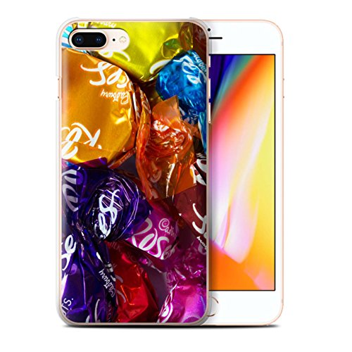 Stuff4 Hülle / Case für Apple iPhone 8 Plus / Jelly Beans Muster / Bonbons/Süßigkeiten Kollektion Roses