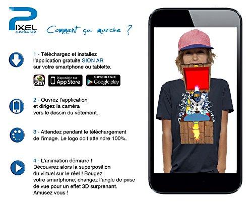 aplicación realidad aumentada para camiseta de piratas