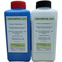 WAGNERSIL 32 n caoutchouc dubliersilikon moyen en silicone de haute qualité - 1 kg