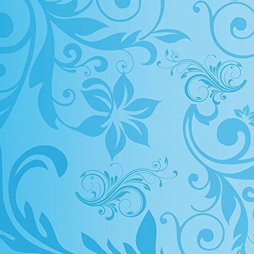 Apple iPhone 5 Case Skin Sticker aus Vinyl-Folie Aufkleber Blumenmuster Ranken Blau DesignSkins® glänzend