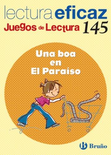 Una boa en El Paraíso Juego de Lectura (Castellano - Material Complementario - Juegos De Lectura) - 9788421663424 por Mª Trinidad Labajo González