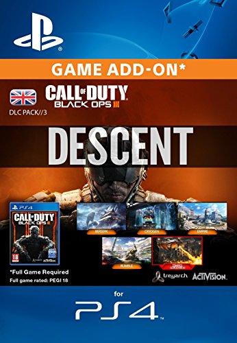 Call Of Duty: Black Ops III-Descent DLC [PS4PSN Download Code-UK Konto]