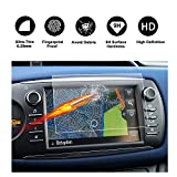 Tempered glass 7 inch screen protector for navigation system of (2017) Toyota Yaris XP13 Touch 2, invisible Screen protector, Crystal HD clear Screen protector Transparent Screen ruiya