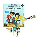 #2: Smartivity Pump It Move It Hydraulic Crane stem, DIY, Educational, Learning, Building and Construction Toy