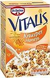 Dr. Oetker Vitalis Knusper Honeys, mit Bienenhonig - 600gr - 2x