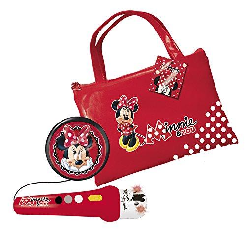 Reig Minnie and You Handtasche mit Mikrofon, Lautsprecher und Verstärker