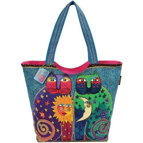 laurel-burch-laurel-burch-scoop-tote-zipper-top-495-cm-x-13-cm-x-15-cm-celestial-felines