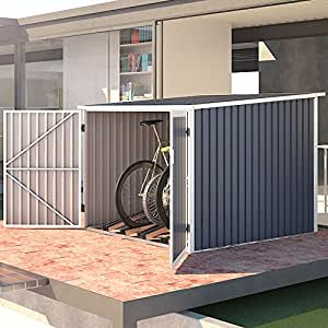 svita fahrradgarage bicycle box fahrradhaus fahrradbox. Black Bedroom Furniture Sets. Home Design Ideas