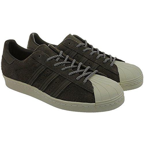 Adidas Sneaker Men SUPERSTAR 80S S75848 Braun, Schuhgröße:43 1/3 - 3