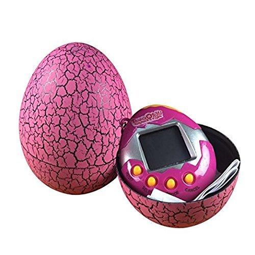 (Li-an-ca Digitale 90er Jahre nostalgische Spielzeug elektronische virtuelle Pet Game Egg Kinder Halloween Weihnachtsgeschenk (Rosa))