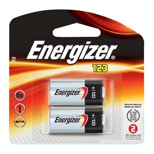 Energizer el123apb2Batterie Energizer 123 Photo