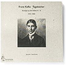 Franz Kafka, Tagebücher, 1 Audio-CD in handgefertigter Papphülle (Bibliophile Edition »Hörhefte«)