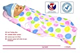 #10: HOOPA HOODED Printed XXL Feeding Pillow - Pink Smile | Infant Carrier | Nursing Pillow | Nursing Pad | Baby Carrier | Hoopa