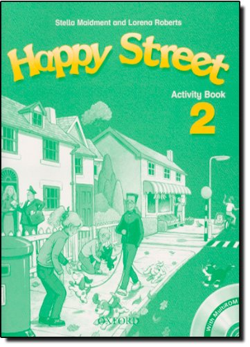 Happy Street 2: Activity Book and MultiROM Pack