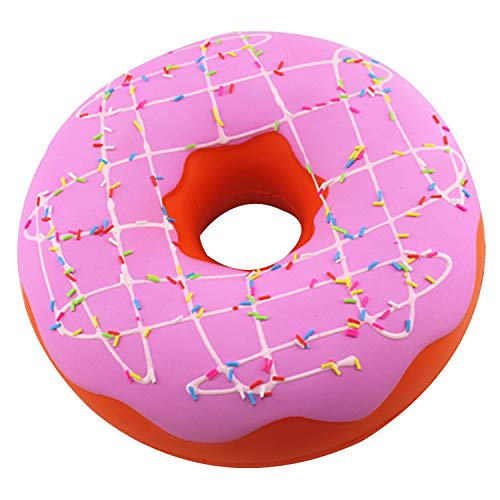 Hffan Jumbo Doughnut Kawaii Duftend weich langsam steigende riesige Streusel Donut Stressabbau Kinder Spielzeug bezaubernd Schleppend Steigend Krapfen Stress Relief Toy (Halloween Barbie Kuchen)