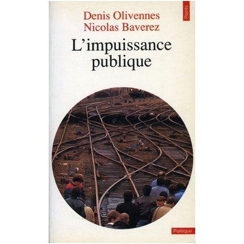 L'IMPUISSANCE PUBLIQUE