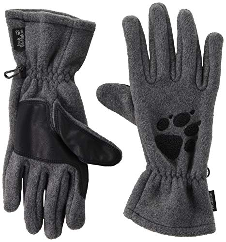 Jack Wolfskin Damen Handschuhe Paw, grey heather, M, 19615-6110003 - Saw Hund Jig Puzzle