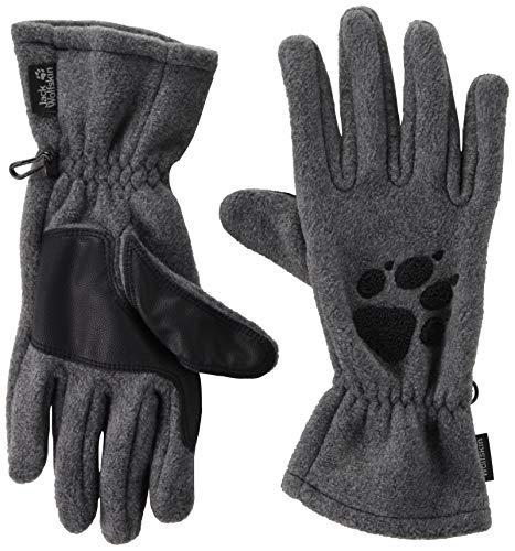 Jack Wolfskin Damen Handschuhe Paw, grey heather, M, 19615-6110003 - Jig Puzzle Hund Saw