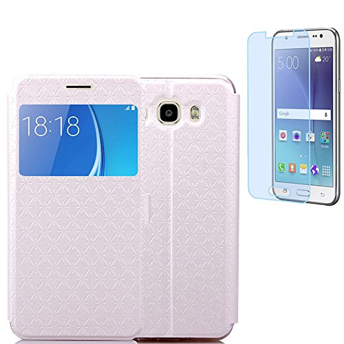 samsung-galaxy-j52016-j510-j52016duos-hulle-mit-panzerglasisenpenk-original-flip-bookstyle-cover-was