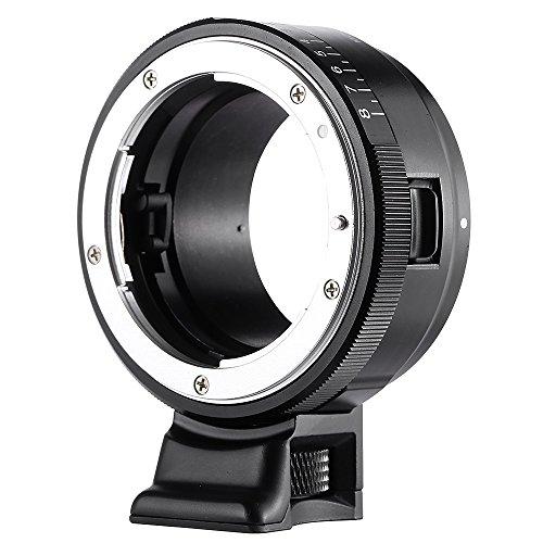 Viltrox nf-nex Support Anneau adaptateur pour objectif NIKON G/F/AI/S/D/Appareil photo ?monture Sony E A7, A7R, NEX-5, NEX-3, NEX-C3, NEX-5N, NEX-5R, NEX-F3, NEX-6, NEX-7, NEX-VG10, VG20, vg30